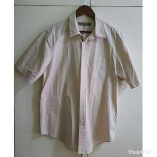 Giordano Cream Men's Short Polo