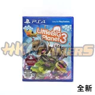 PS4 小小大星球3 中英 全新