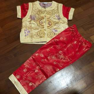 Chinese Traditional Boy Costume
