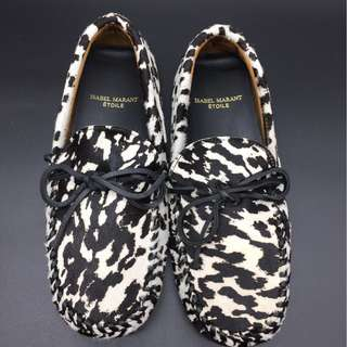 ISABEL MARANT ETOILE suede driving shoes