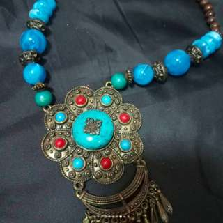 Blue India Necklace