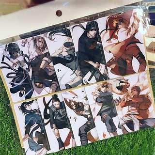 Anime • Manga • Naruto Card Sticker (10pcs)