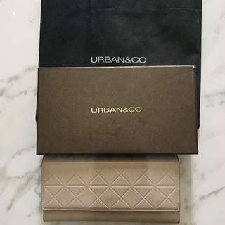 URBAN&CO DOMPET ABU WALLET GREY