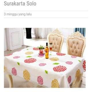 Taplak meja motif sunflower