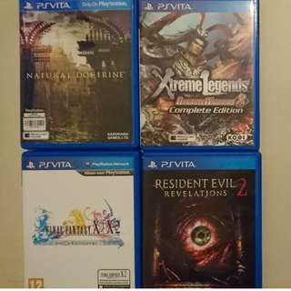 PS VITA and PS 4 game