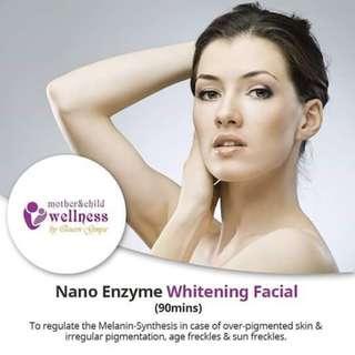 Nano Enzyme Whitening Facial