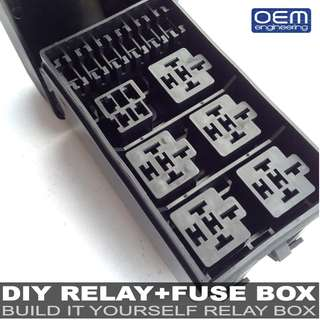 OEM Engineering DIY RELAY+FUSE BOX