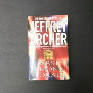 Jeffrey Archer, First Amongst Equals