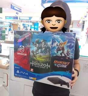 Playstation Ps4 sony. Garansi 1 tahun. Bisa kredit murah