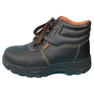 Meisons safety shoes orange inside UK 6.5