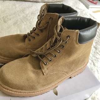Casual Work Boots Size 8
