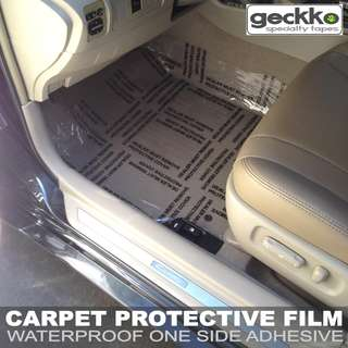 CARPET PROTECTIVE FILM by Geckko Specialty Tapes