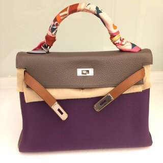 🚚 愛馬仕 Hermes Kelly 32 六拼色