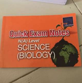 Combine science biology exam notes