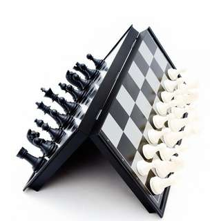 Folding International Chess Magnetic Chess Board
