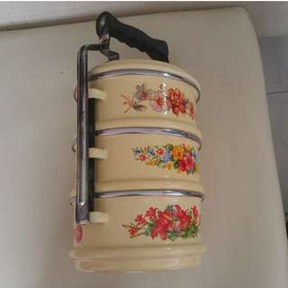 Out of Circulation Tiffin Carrier (reserved)