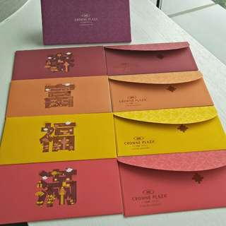 Crowne Plaza Changi Airport Hotel Red Packet