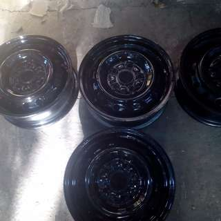 steel rims with hubcaps size14