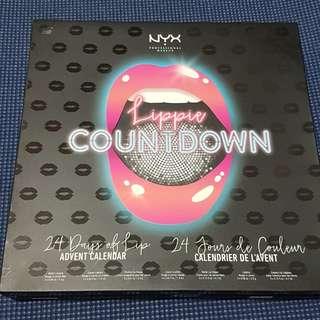 BNIB AUTHENTIC Nyx Professional Makeup: Lippie Countdown Advent Calendar