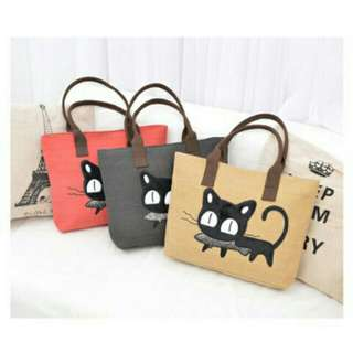 ZM #2180 Korean Cat Simple Shoulder Bag
