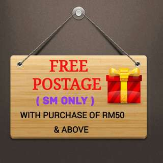 🍒 FREE POSTAGE SM WITH PURCHASE OF RM50 ABOVE 🍒