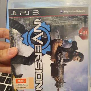 PS3 Game inversion