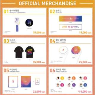【Preorder】JBJ Concert Official MD
