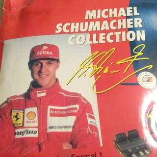 Limited edition Ferrari Michael Schumacher collection