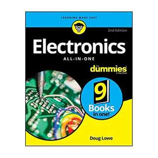 Electronics All-in-One For Dummies 2nd Edition BY  Doug Lowe