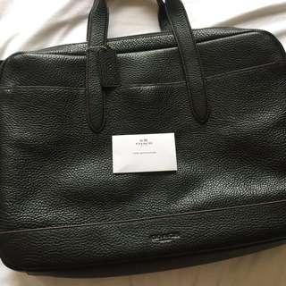 Coach briefcase 100% authentic