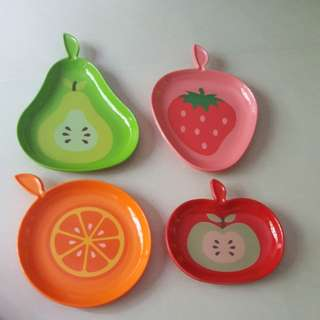 BN Plates with fruits shape