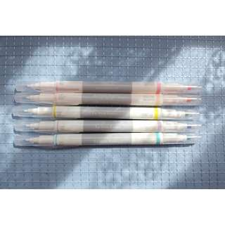 Le Stylo Feutre (2-way Color Pastel Pen Fine and Thick)