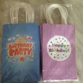 Goody bag paper bag