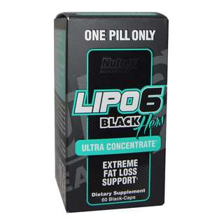 NUTREX LIPO 6 BLACK HERS ULTRA 60CAPS - COD FREE SHIPPING