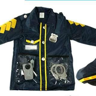 Rent kids police uniform
