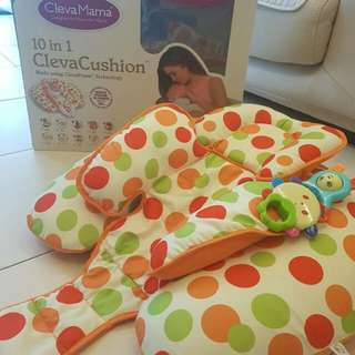 ClevaCushion 10 in 1 Nursing Pillow