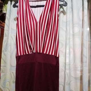 Sexy Maroon Dress! 😊