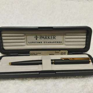 Parker Stainless GT rollerball pen