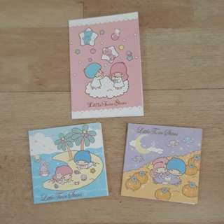 Little Twin Stars mini cards