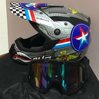 (INSTOCK) Full Face Helmet