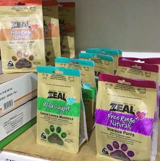 ⭐BUY 2 FREE 1⭐    Zeal Dried Free Range Treats