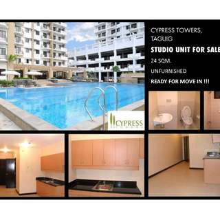 Studio Unit Cypress Towers Taguig