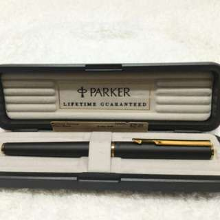 Parker Arrow Black Matte Rollerball Pen
