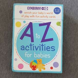 Gymboree Flashcard activities for babies