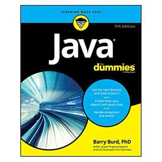 Java For Dummies (For Dummies (Computers)) 7th Edition BY Barry A. Burd  (Author)