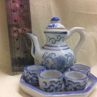 Batik Mini Tea Pot Set