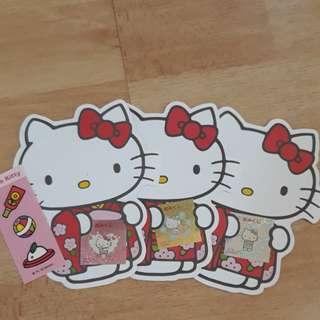 Hello kitty packets