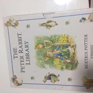 Peter Rabbit hard cover books