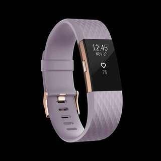情人節禮物推介 全新Fitbit Charge 2