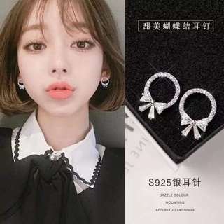 🚚 💎韓國S925銀針耳環